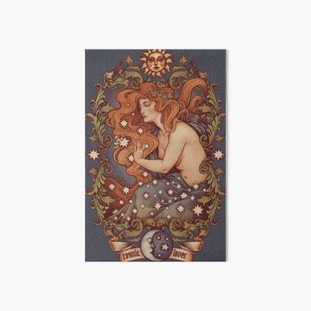 COSMIC LOVER - Color version Art Board Print