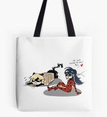Miraculous team Tote Bag