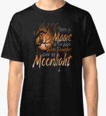 Magic When Pumpkin glow Moonlight Halloween Shirt Classic T-Shirt
