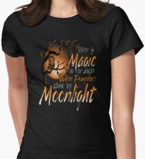 Magic When Pumpkin glow Moonlight Halloween Shirt T-Shirt