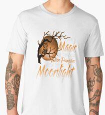 Magic When Pumpkin glow Moonlight Halloween Shirt Men's Premium T-Shirt