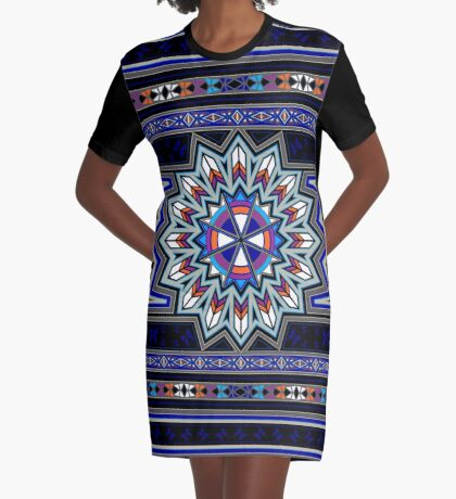 Butterfly Nation Graphic T-Shirt Dress