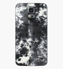 Cowhide Black and White | Texture Case/Skin for Samsung Galaxy