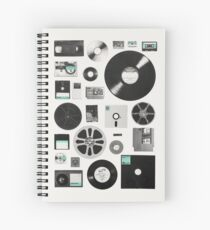 Data Spiral Notebook