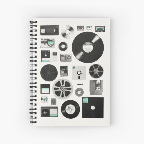 Data Spiral Notebook