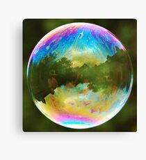 Planet Bubble Canvas Print