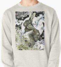 Hares in the Hedgerows Pullover