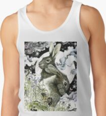 Hares in the Hedgerows Tank Top