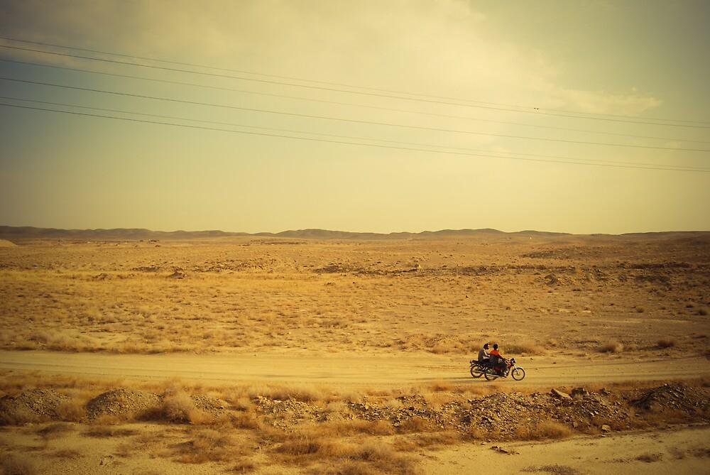 Desert riders in Iran by Desmond Kavanagh