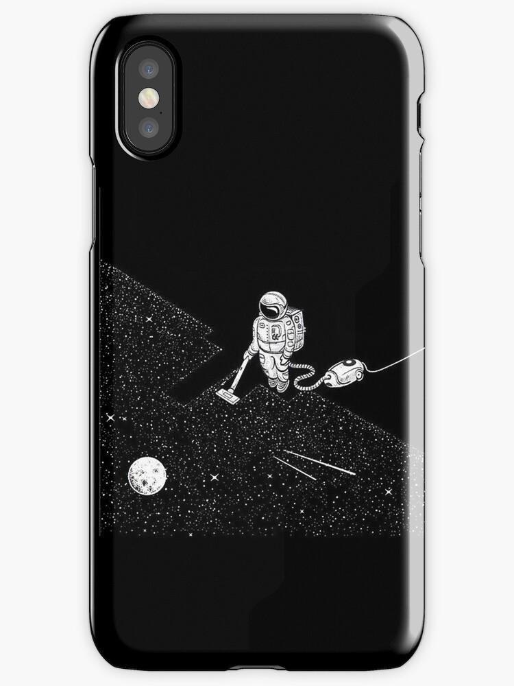 Astronaut vacuuming the stars by JohnNicols