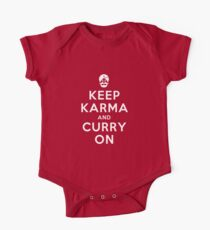 Keep Karma And Curry On [iPad / Phone cases / Prints / Clothing / Decor] One Piece - Short Sleeve