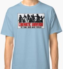 Cinematic Universe: Panel Logo Classic T-Shirt