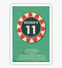 Ocean's Eleven  Sticker