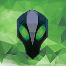 Rubick Low Poly Art by giftmones