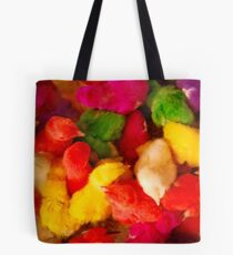 Dyed chicks of Esfahan, Iran. Tote Bag
