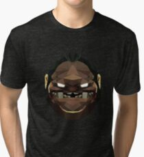 Pudge Low Poly Art Tri-blend T-Shirt