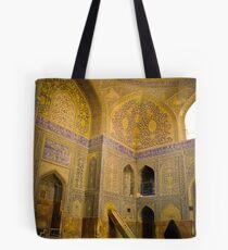 Imam Mosque, Esfahan, Iran Tote Bag