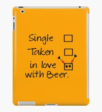 in love with beer iPad Case/Skin