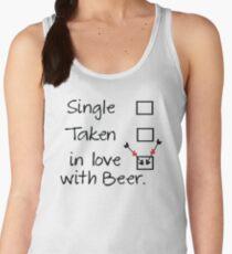 in love with beer Women's Tank Top