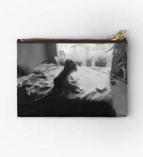 Willow on bed Studio Pouch