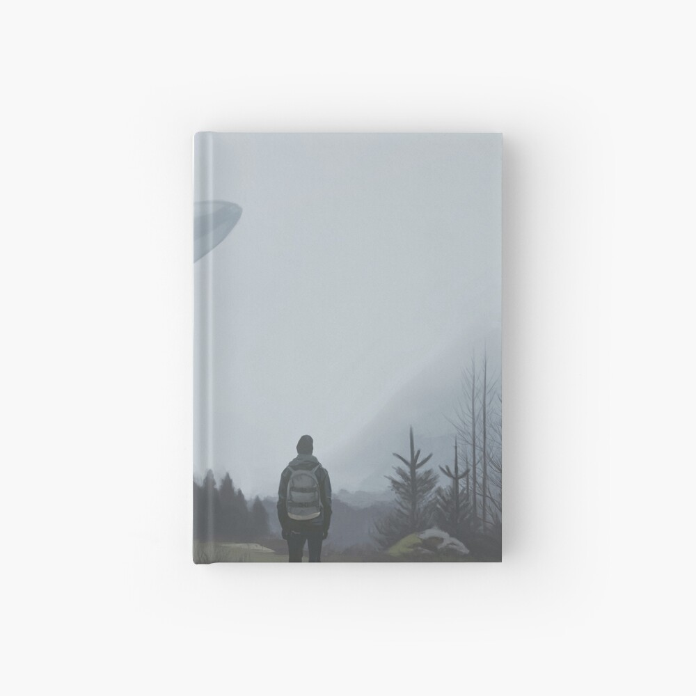 The lonely wanderers Hardcover Journal