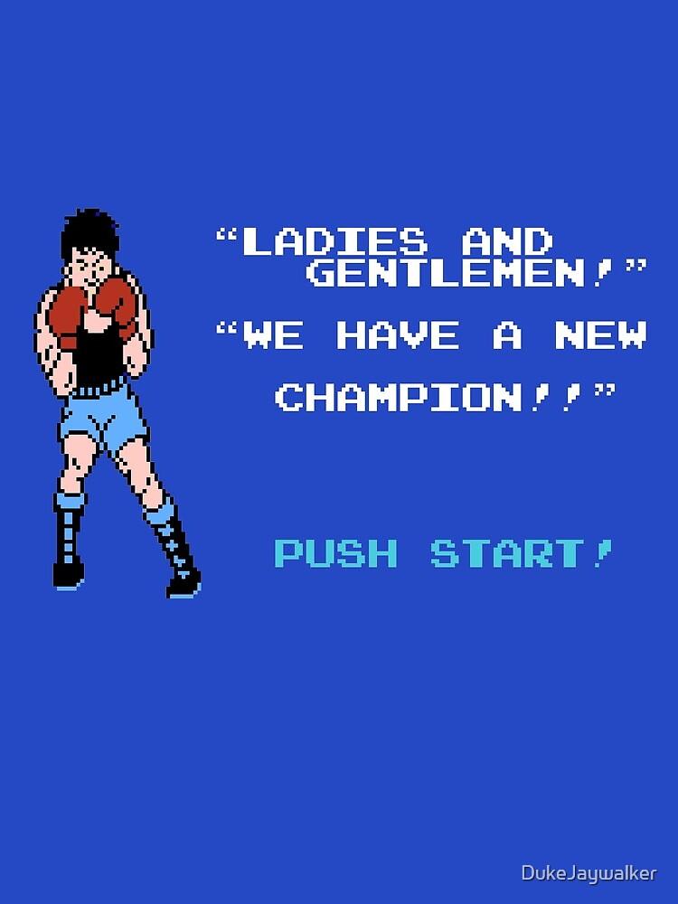Kleiner Mac Neuer Champion von DukeJaywalker