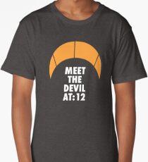 Meet the Devil at 12:00h. Kiteboarding Long T-Shirt