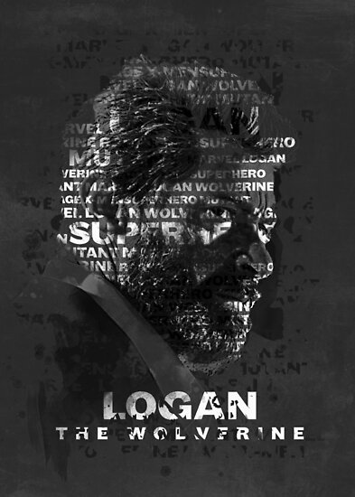 Logan thw wolverine movie poster by traxim