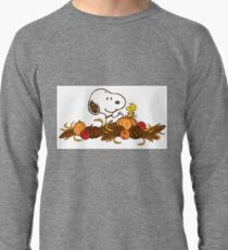 Snoopy Thanksgiving Lightweight Sweatshirt
