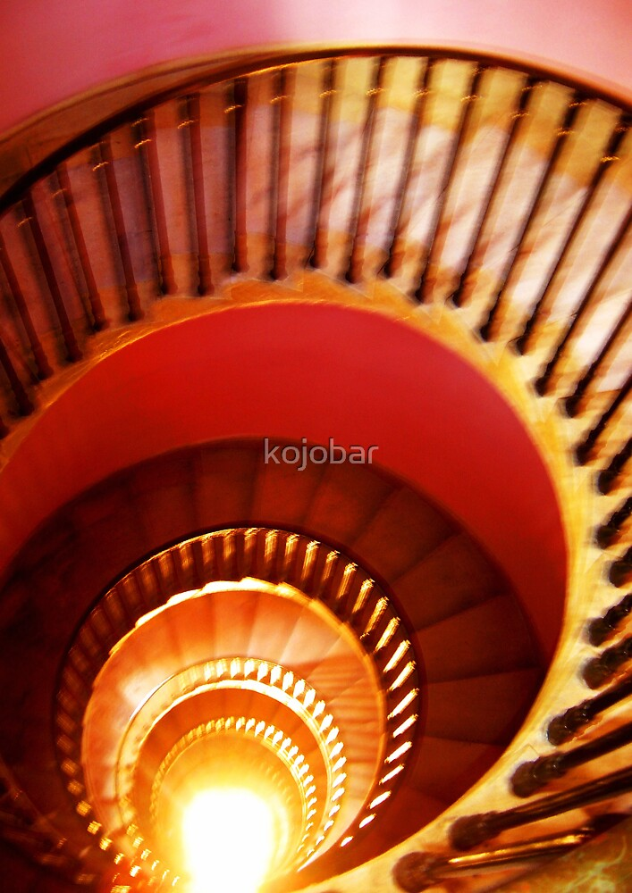 Sprial Staircase, BATH, ENGLAND by kojobar