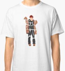 Typographic and Minimalist Thom Yorke Illustration Classic T-Shirt