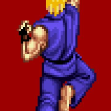 Blue Ken Shoryuken by DukeJaywalker