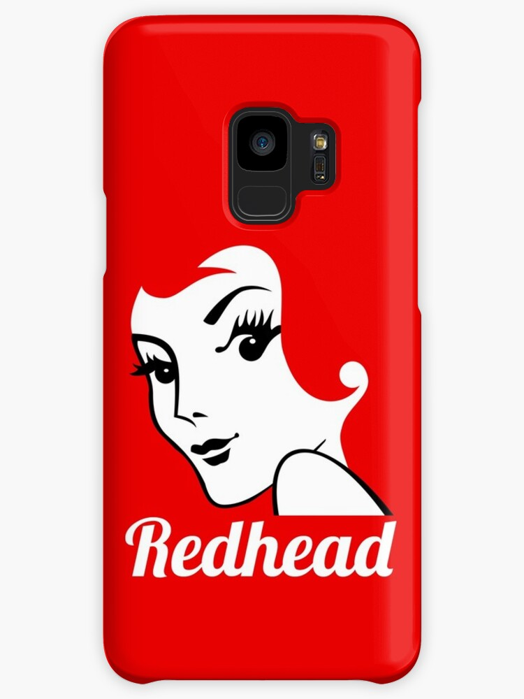 Miss Redhead (text) [iPad / Phone cases / Prints / Clothing / Decor] by Didi Bingham