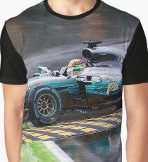 Lewis Hamilton Monza 2017 Graphic T-Shirt