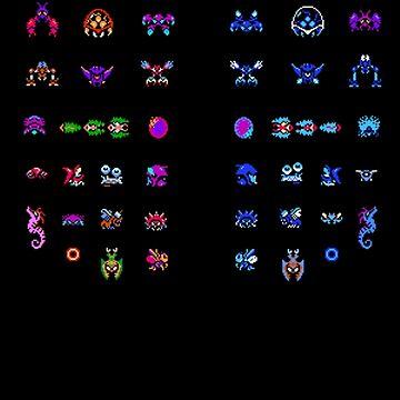 Metroid Enemies by DukeJaywalker