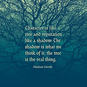 Tree of Character VINTAGE BLUE by GrandeDuc