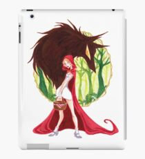 Lil red riding hood  iPad Case/Skin