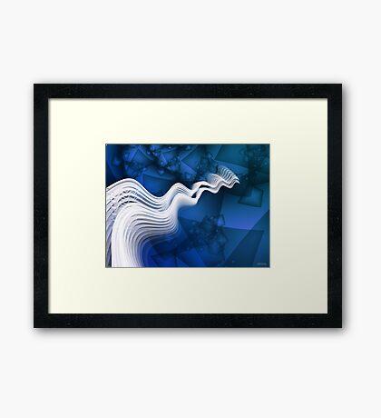 Siren Song - high res Framed Print
