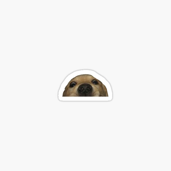 Doggo Sticker