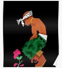 Thug Life Rose Poster