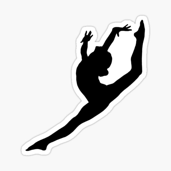 Danseur / Gymnaste Sticker