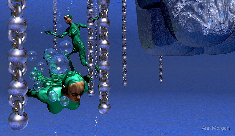 Swimming Around Chains by Ann Morgan