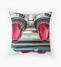Poncho Jets Throw Pillow