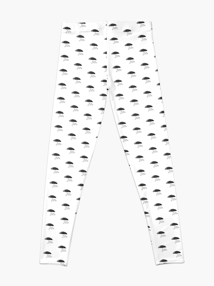 Alternative Ansicht von Du springst ich springe Leggings