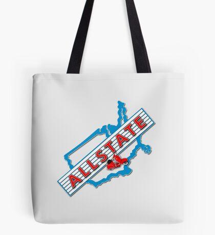 Scooter T-shirts Art: Allstate Logo Design Tote Bag