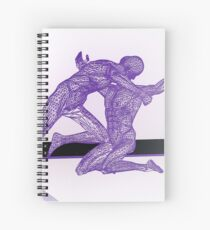 The Fight Spiral Notebook
