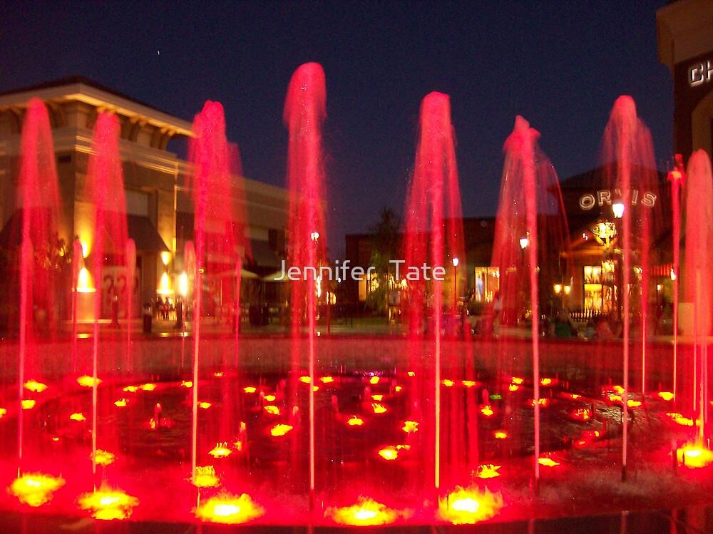 Fountains 5 by Jennifer  Tate