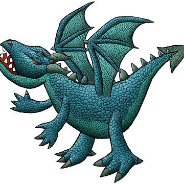 Blue Dragon by mikelevett