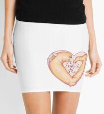Leglock of Love Mini Skirt