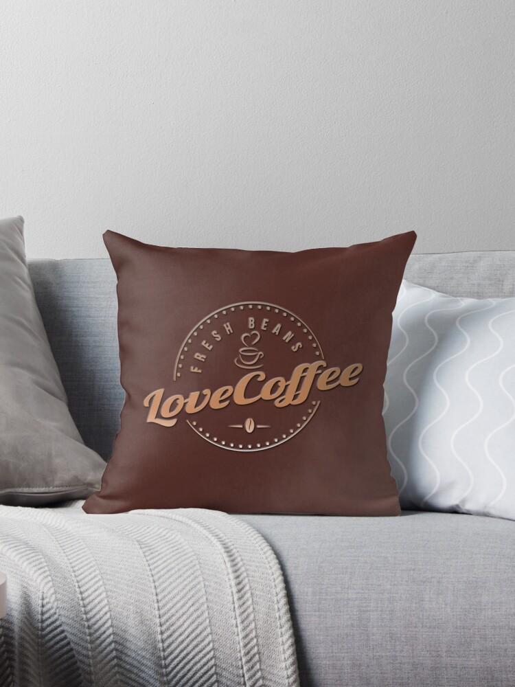 Coffee Range | Love Coffee | Coffee Beans   by ozcushionstoo